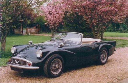 Daimler SP250 Dart, recipient vehicle for our badge